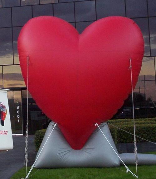 Red Heart Inflatable