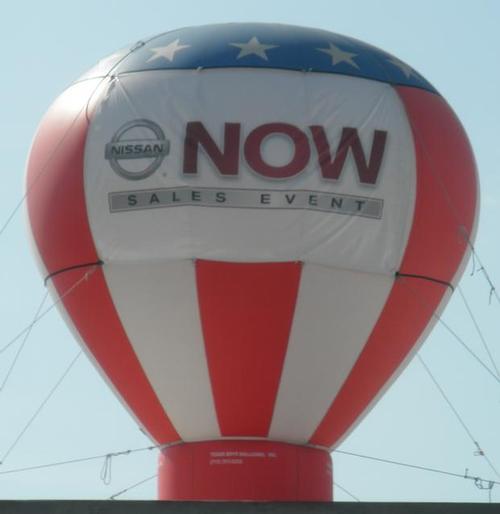 Nissan Hot Air Balloon Inflatable